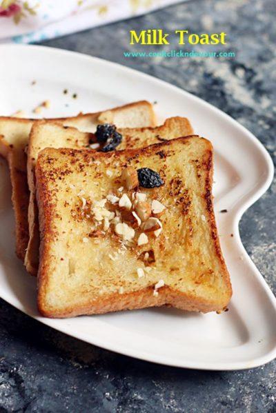 Milk toast recipe for breakfast