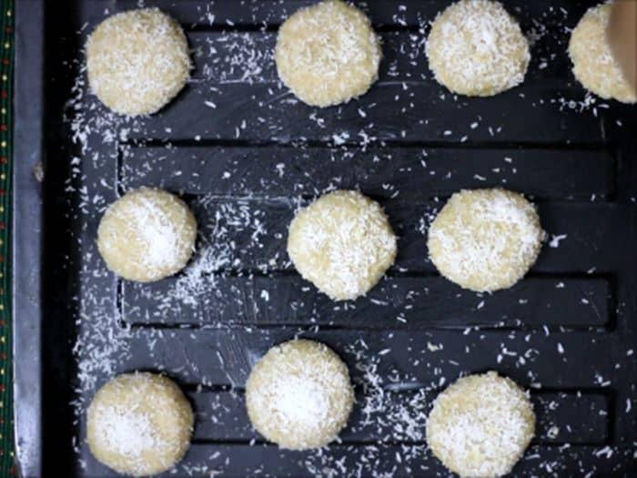 coconut cookies recipe steps
