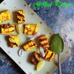 Grilled Paneer Recipe (Easy Stove Top Method)