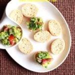 guacamole on toast recipe
