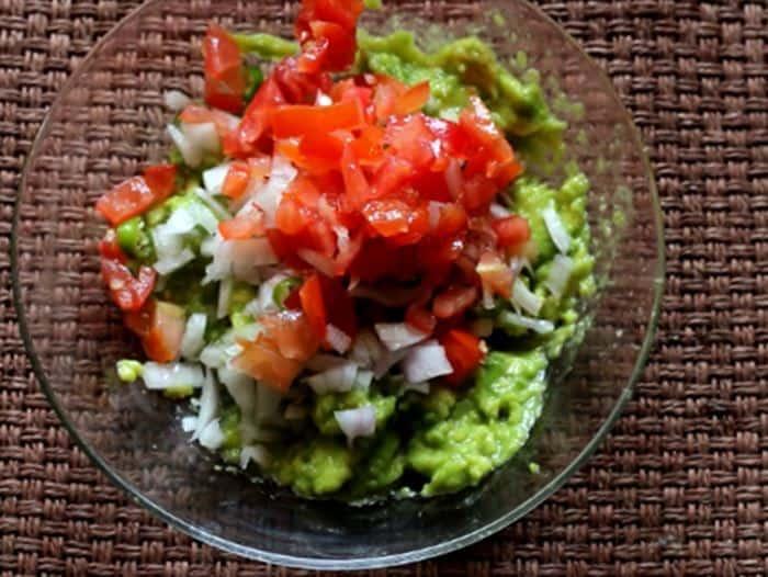 guacamole recipe making