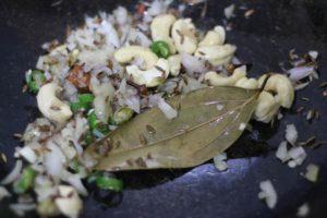 sauteing onions in ghee