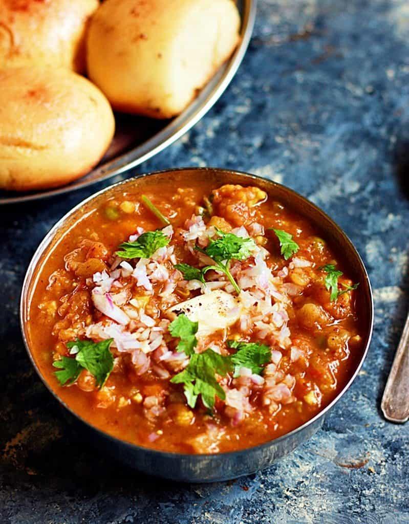 homemade easy pav bhaji recipe