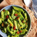 Creamy Spinach Pasta Recipe | Pasta In Spinach Sauce