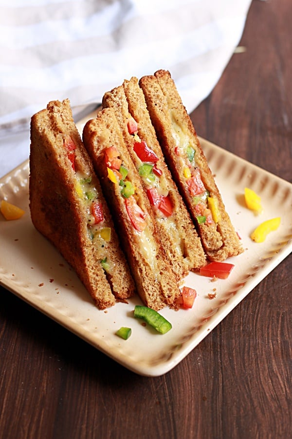 how to make cheese toast sandwich recipe