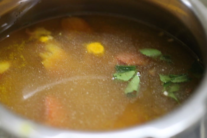 making jeera rasam recipe