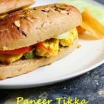 Subway Paneer Tikka Sandwich Recipe