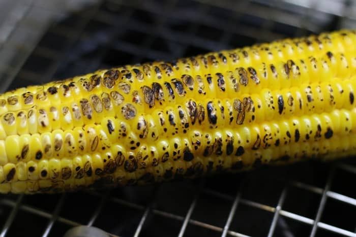 roasted corn on the cob recipe making