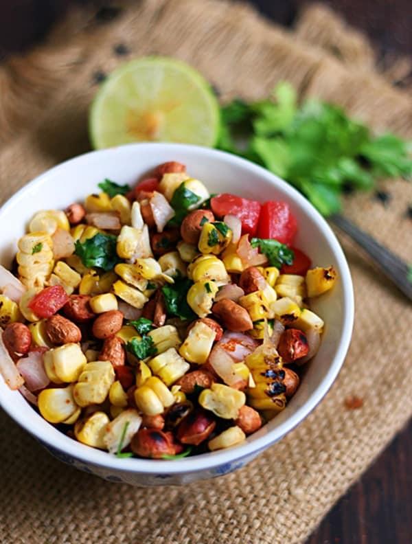 easy roasted corn salad recipe