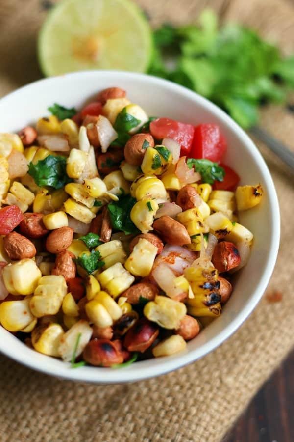 simple roasted corn salad recipe