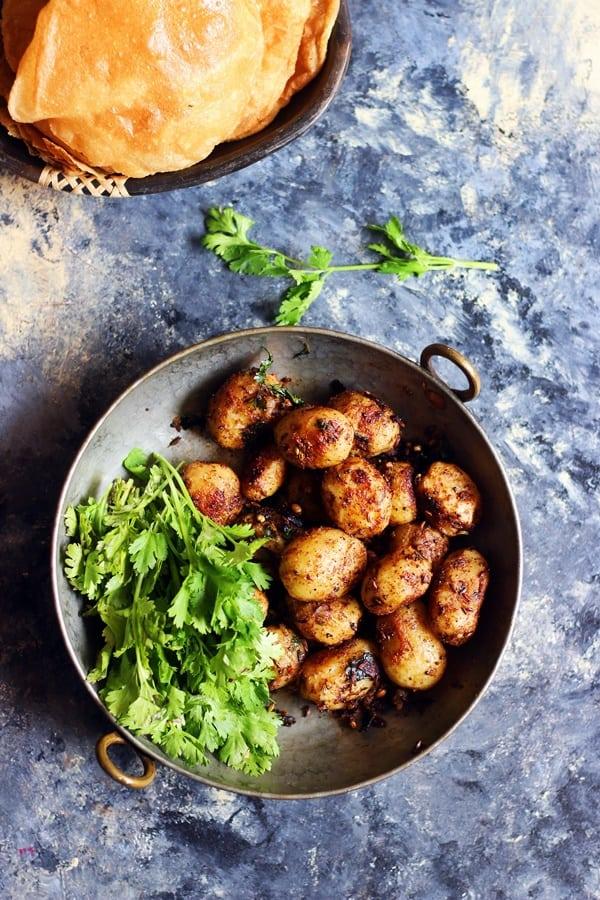 how to make bombay potato curry