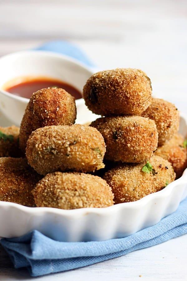 quick veggie nuggets recipe