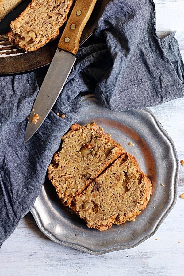 one bowl walnut banana bread recipe
