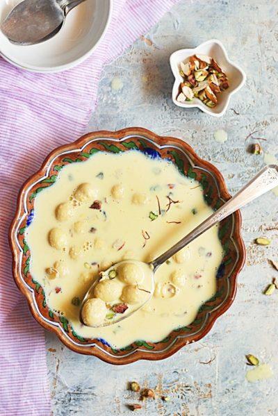 Angoori rasmalai recipe