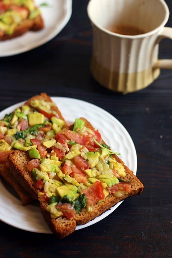 avocado cheese toast recipe