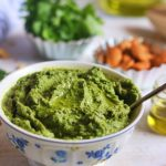 cilantro pesto recipe with almonds