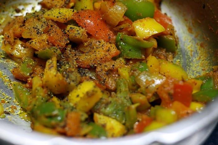 making pepper paneer recipe-step 6