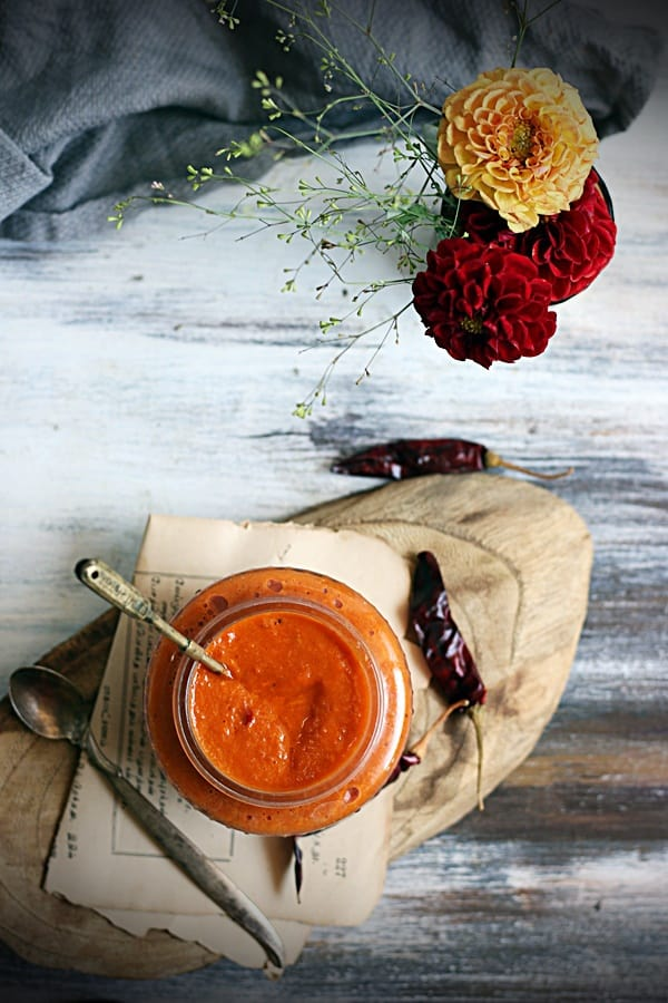 how to make bell pepper sauce recipe