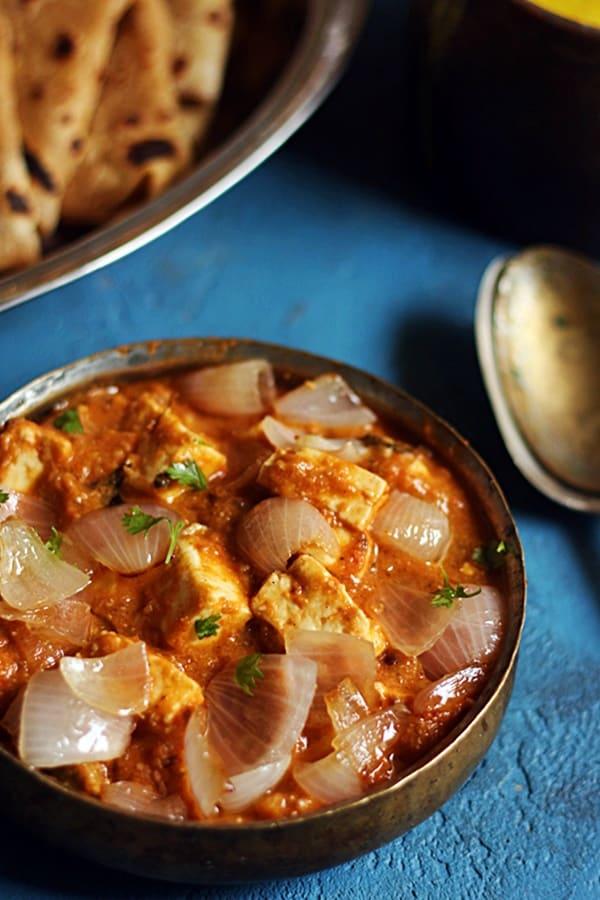 how to make restaurant style paneer do pyaza recipe