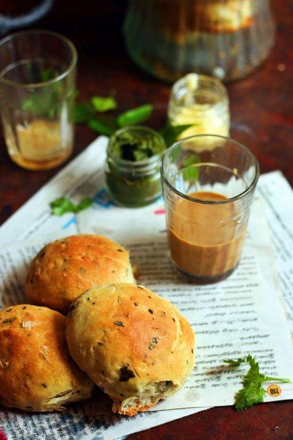 spicy bun recipe, how to make spicy bun
