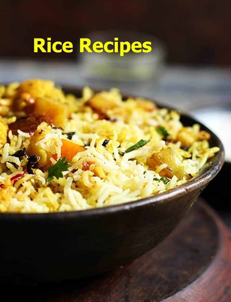 Best rice recipes, collection of tasty rice recipes