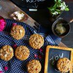 Eggless Carrot Muffins Recipe