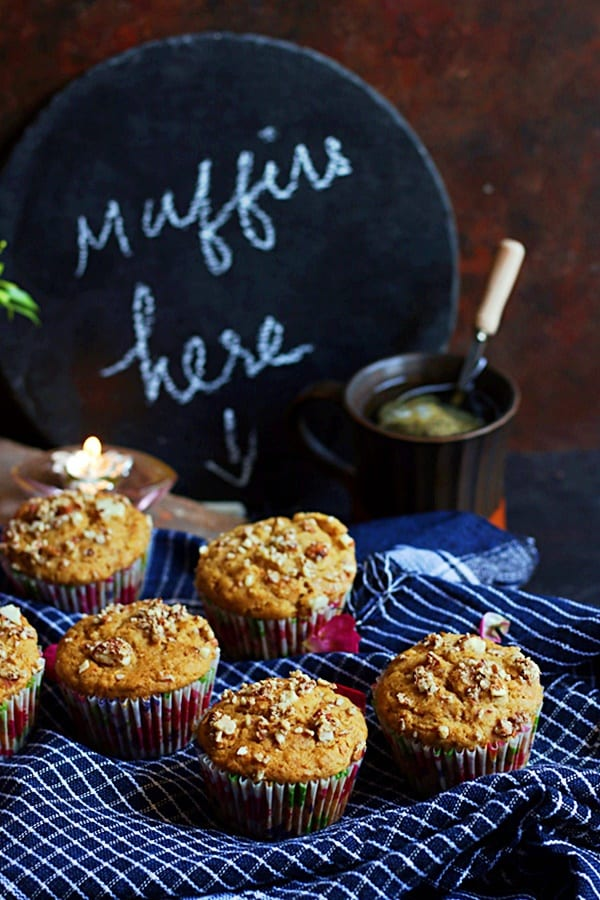 easy carrot muffins recipe
