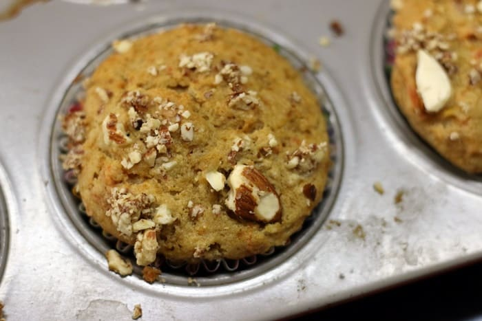 carrot muffins recipe step 7