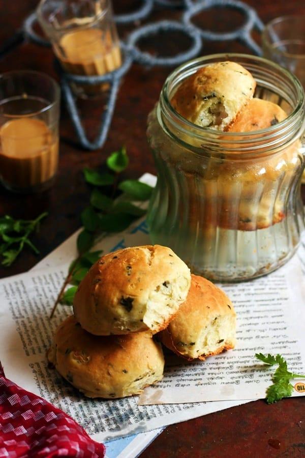 how to make masala bun recipe