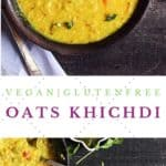 oats khichdi recipe