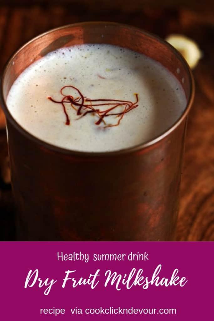 Dry Fruit Milkshake