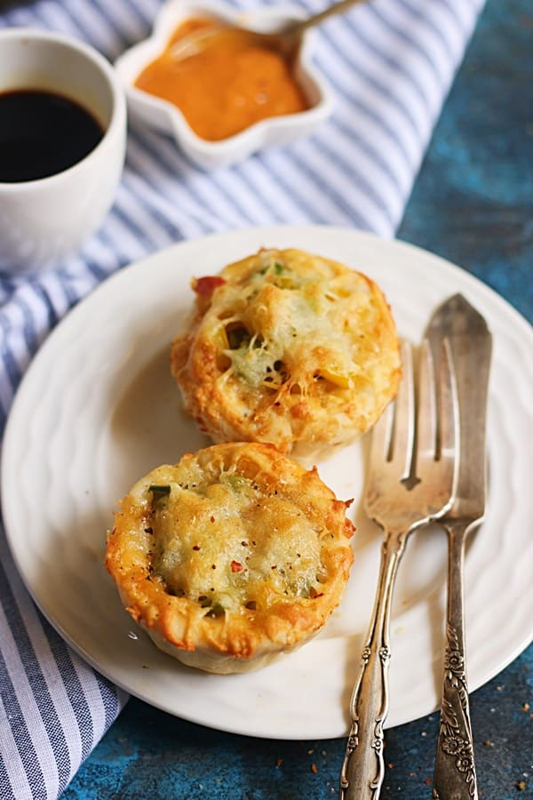 quick pizza muffins recipe