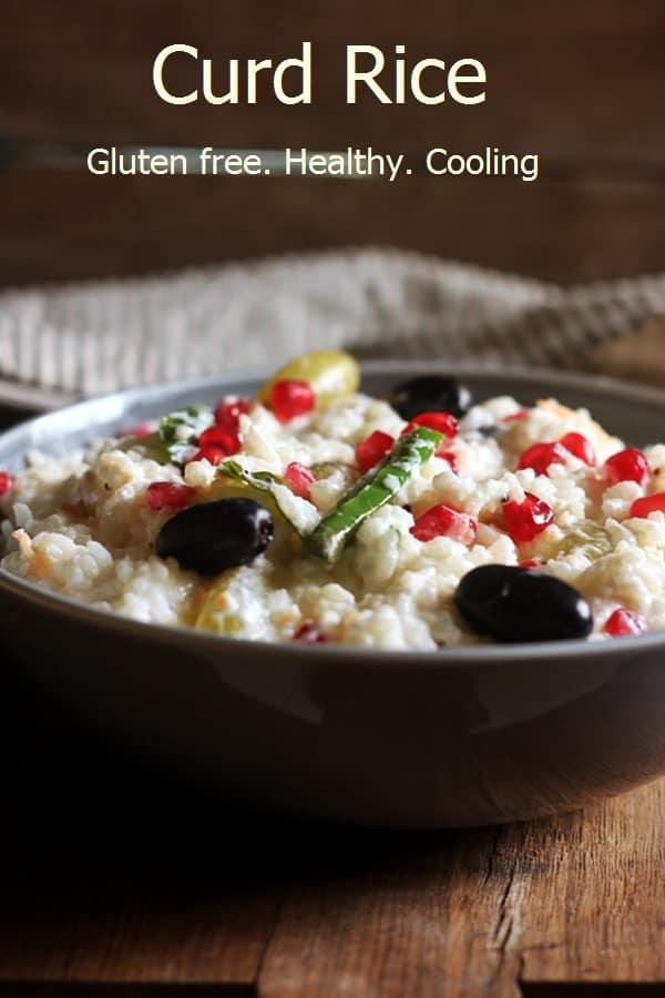 curd rice recipe thayir sadam