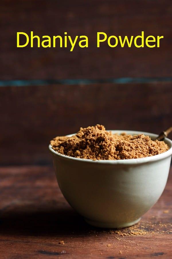 Dhaniya powder recipe