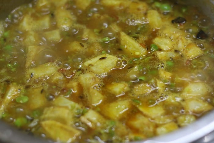 making matar ka nimona recipe