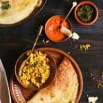 Paneer Dosa Recipe | How To Make Paneer Dosa