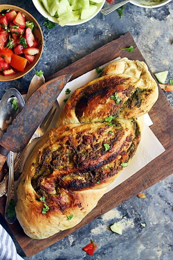 Braided bread recipe, how to make braided bread