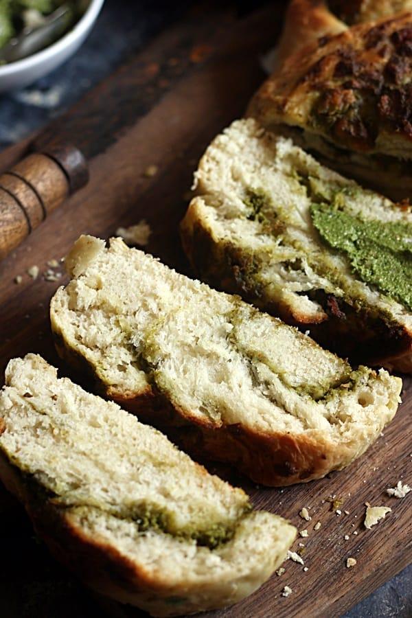 how to make braided garlic bread recipe