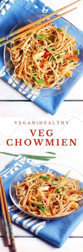 veg chowmien