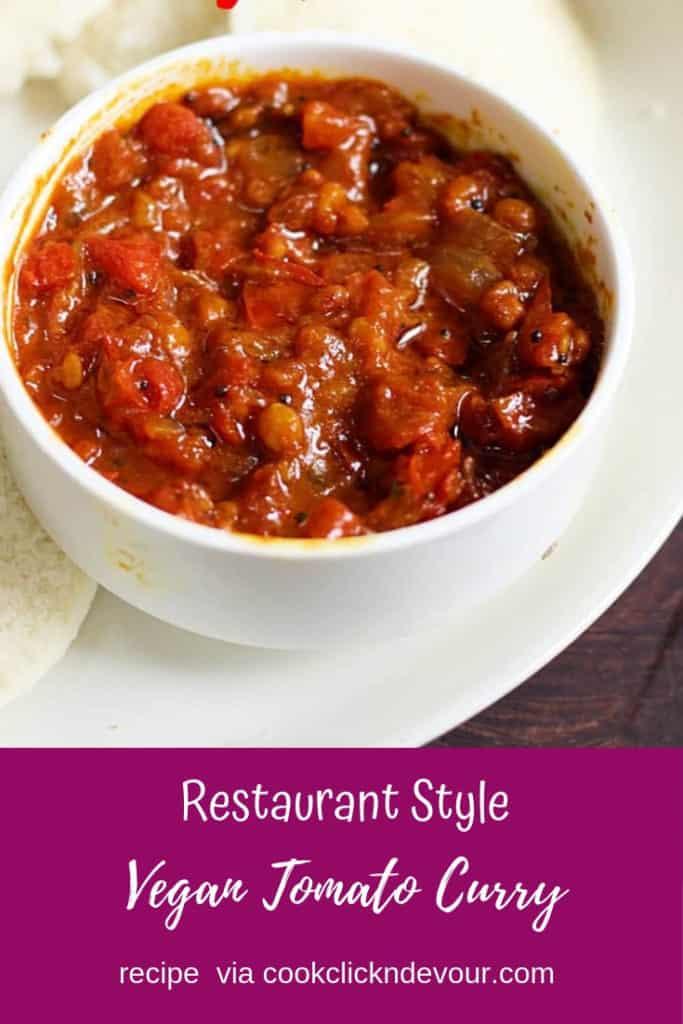 Tomato gothsu recipe