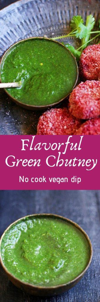 Green chutney-