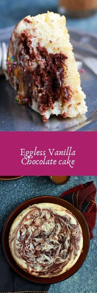 Chocolate vanilla cake recipe