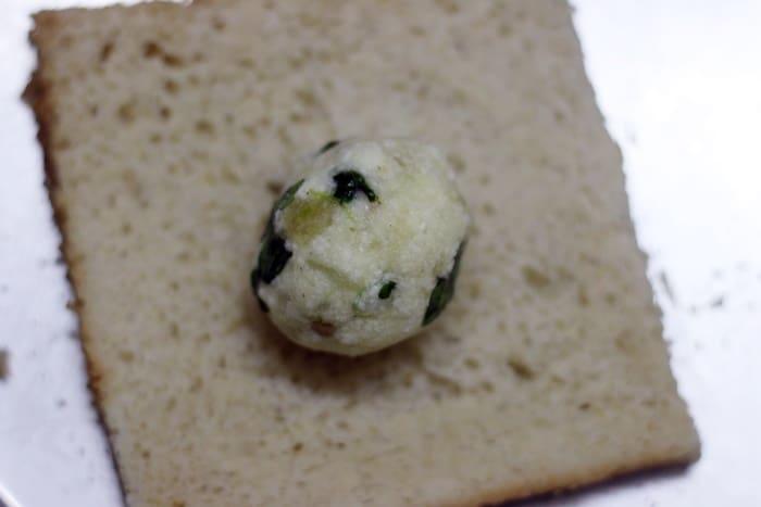 making bread balls recipe