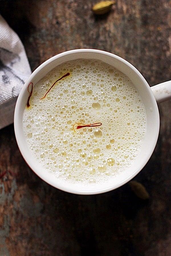 Cardamom milk recipe