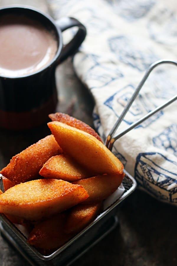 fried idli ready to serve