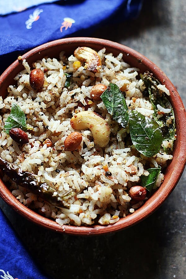 easy and quick peanut rice