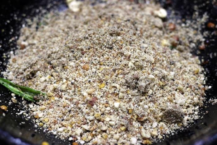 peanut rice recipe preparation