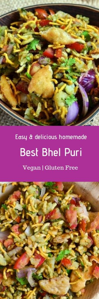 Bhel puri chaat recipe