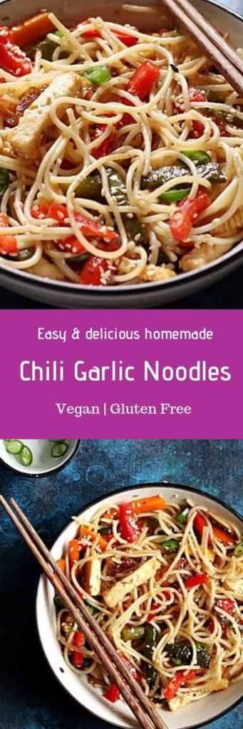chili garlic noodles