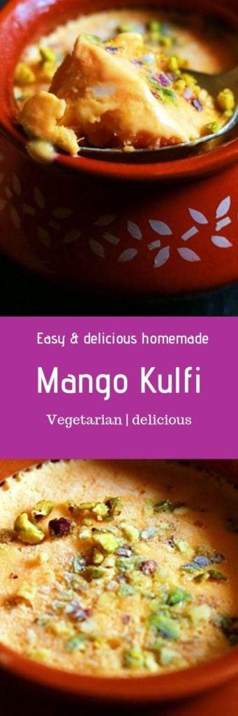 Mango kulfi recipe